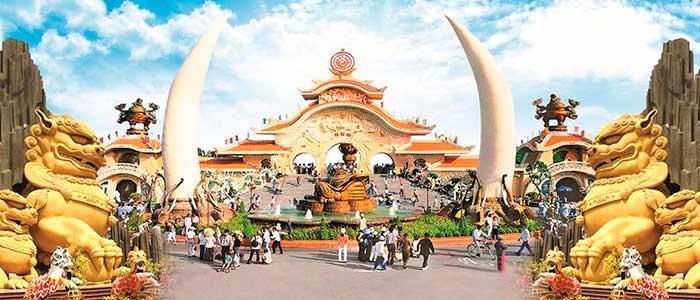 parques de diversiones en el mundo