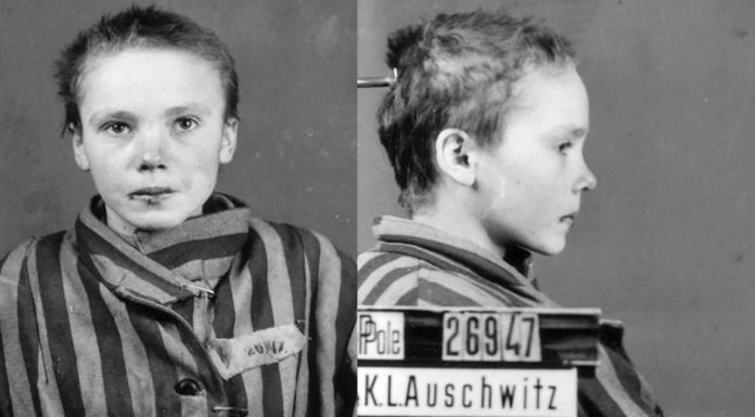 Niña en Auschwitz