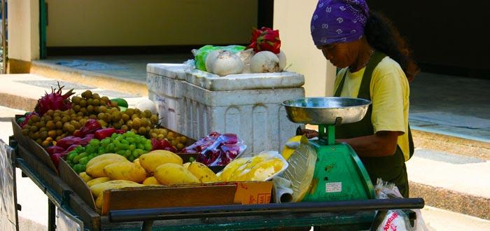 cadena alimenticia, cadena trófica, ser humano, frutas