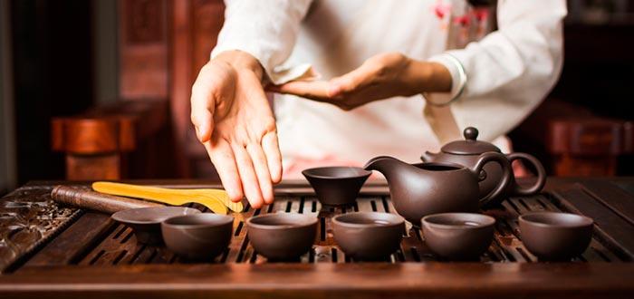 Curiosidades de China, el té
