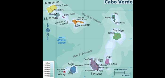20 Curiosidades de Cabo Verde que te sorprenderán, Islas de Cabo Verde