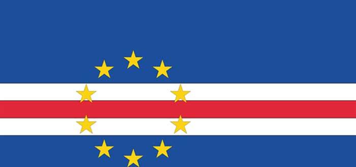 20 Curiosidades de Cabo Verde que te sorprenderán, bandera de Cabo Verde