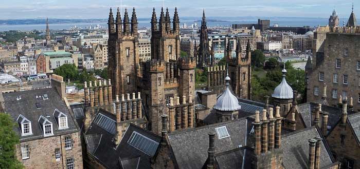 25 Curiosidades de Escocia, el país de las leyendas, capital de Escocia, Catillo de Edimburgo
