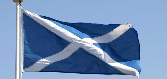 25 Curiosidades de Escocia, el país de las leyendas, bandera de Escocia