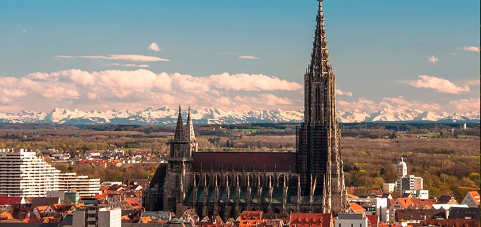 curiosidades de Alemania, Catedral de Ulm