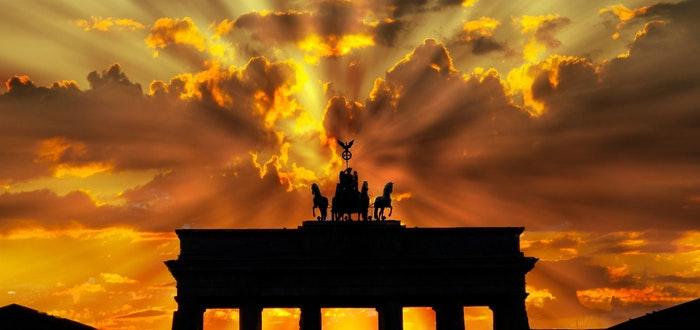 curiosidades de alemania, puerta de brandenburgo