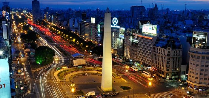 curiosidades de américa, Argentina, Buenos Aire, Avenida 9 de Julio