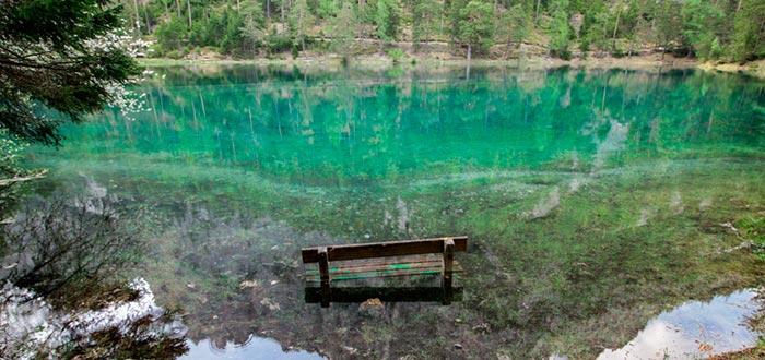 Curiosidades de Austria, Gruner See