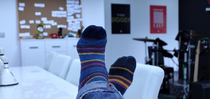 Curiosidades de China, calcetines