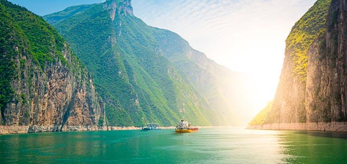 curiosidades de China, río Yangtze