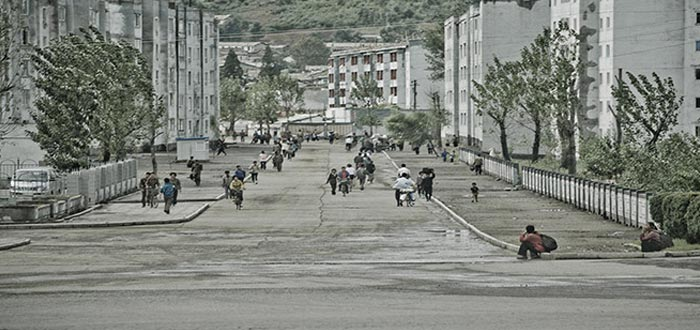 Curiosidades de Corea del Norte, calles