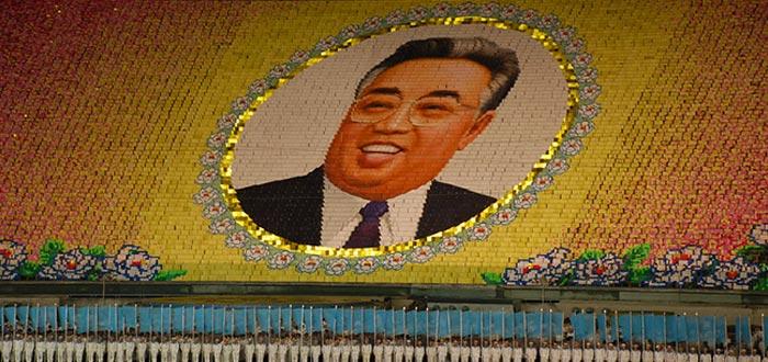 curiosidades de Corea del Norte, líder