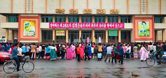 Curiosidades de Corea del Norte, ciudadanos norcoreanos de Pyongyang