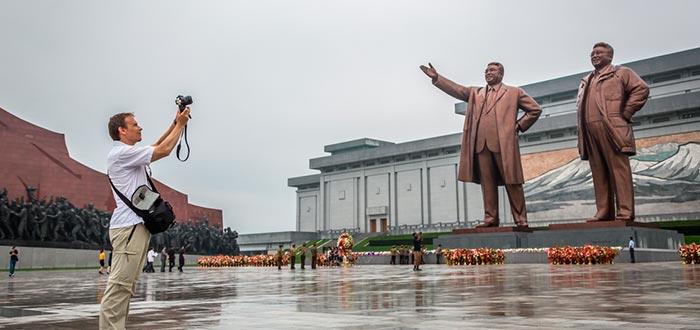 Curiosidades de Corea del Norte, turistas