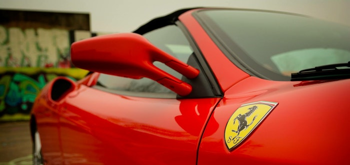 Curiosidades de Italia, Ferrari
