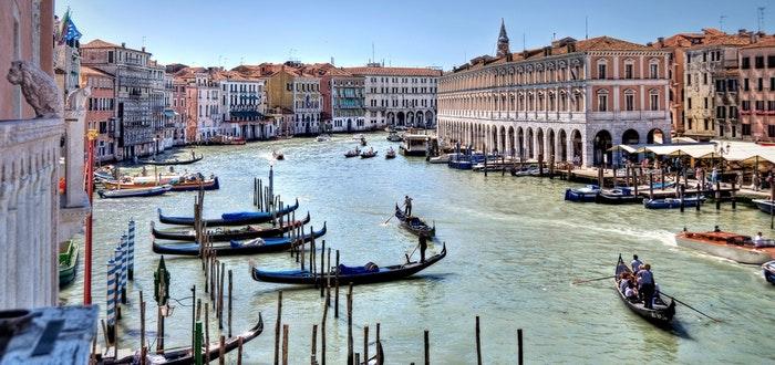 curiosidades de Italia, Venecia, góndolas
