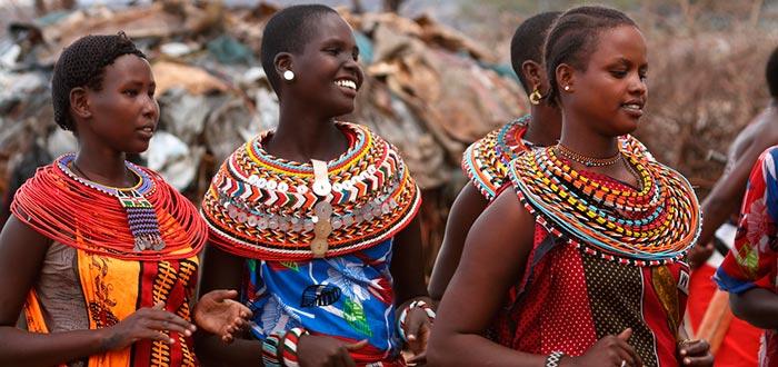 Curiosidades de Kenia, habitantes de Kenia