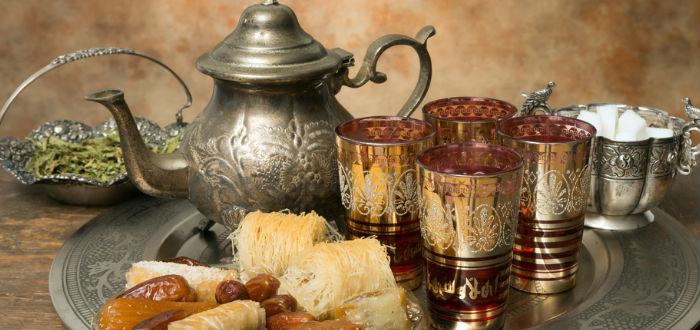 curiosidades de Marruecos, té verde