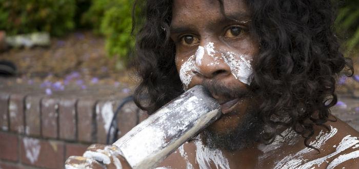 curiosidades de Oceanía, aborigen australia