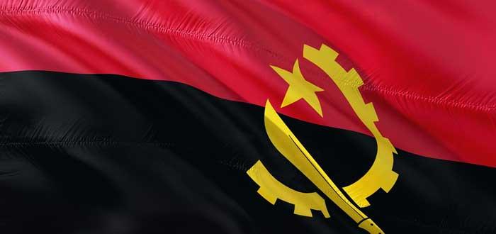 20 Curiosidades sobre Angola que quizás desconocías hasta ahora, bandera de Angola