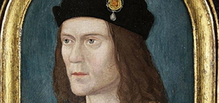 datos curiosos de Inglaterra, detalle de retrato de Ricardo III (1520)