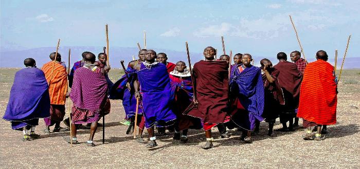 tribus del mundo, jóvenes maasai