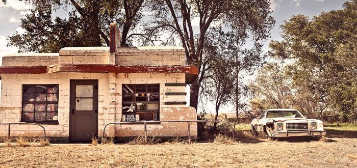 pueblos abandonados, glenrio texas