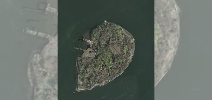 pueblos abandonados, north brother island, nueva york
