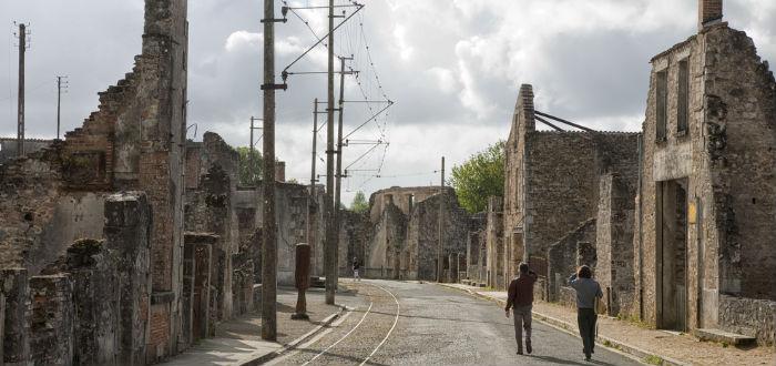 pueblos abandonados, oradour sur glane