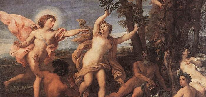 Nombres mitológicos: Dafne