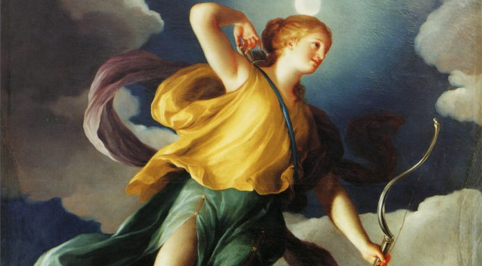 La diosa griega Artemisa
