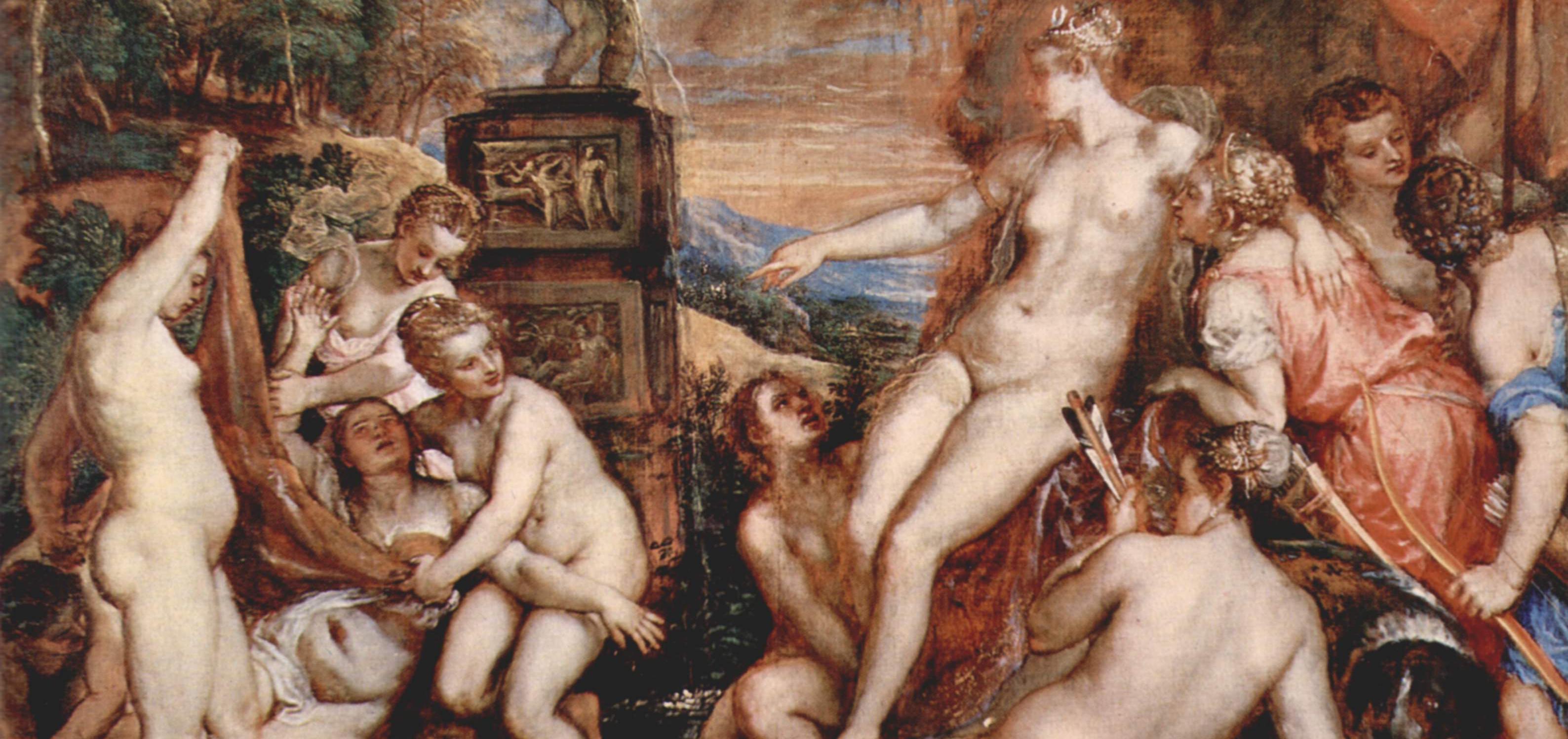 Artemisa descubre el embarazo de Calisto
