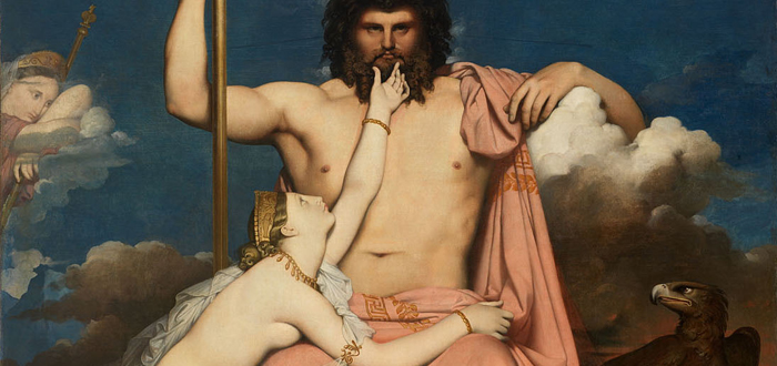 Zeus y Tetis