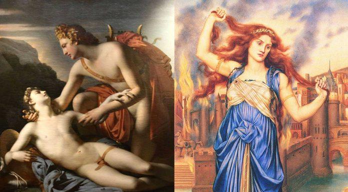 Los amantes del dios Apolo, hombres y mujeres a los que sedujo