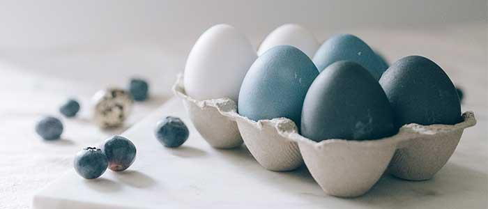 comida azul sin colorantes
