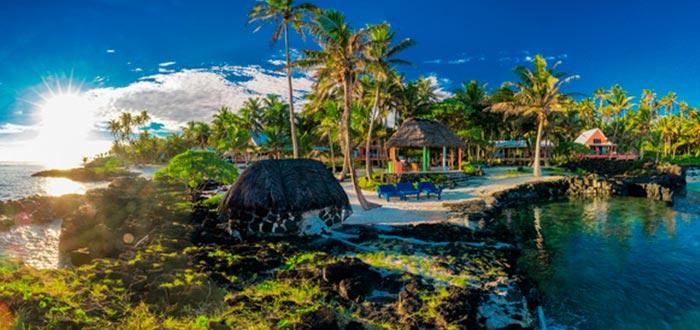 Curiosidades de Samoa, paisaje