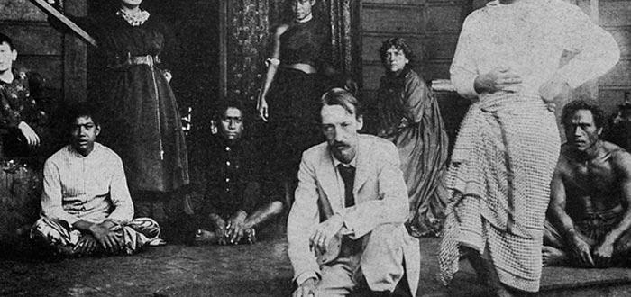 Curiosidades de Samoa, Robert Louis Stevenson