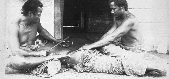 Curiosidades de Samoa, tatuajes
