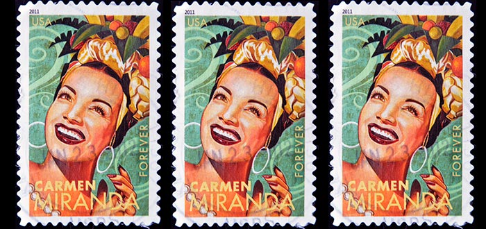 Datos curiosos de Brasil, Carmen Miranda
