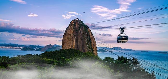 datos curiosos de Brasil, pan de azúcar