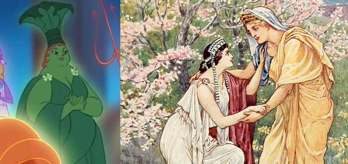 dioses griegos, dioses del Olimpo, Deméter