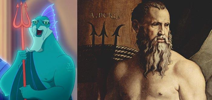 dioses del Olimpo, dioses griegos, Poseidón