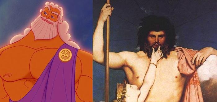 dioses del Olimpo, dioses griegos, Zeus, dioses de la mitología griega