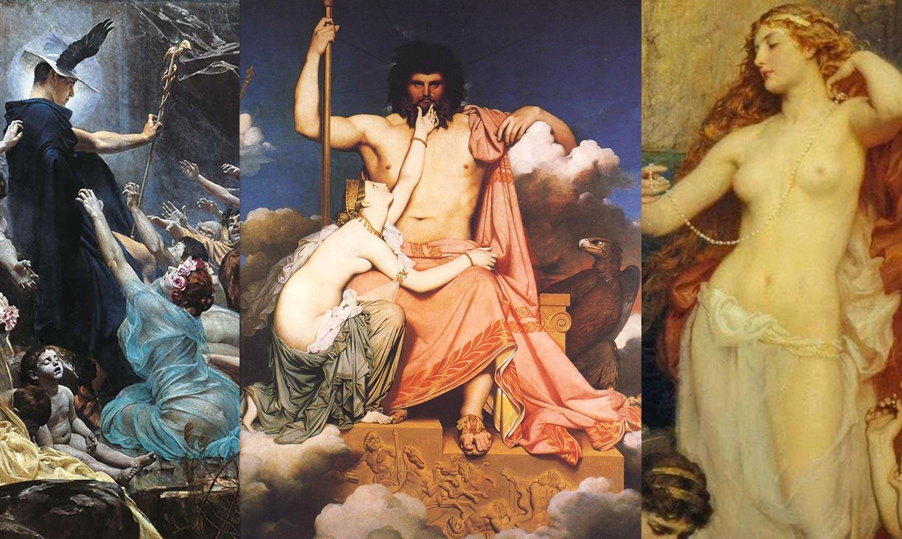 Alegoría Figura Nike Victoria Diosa Griega Diosa Antiguo Mitología