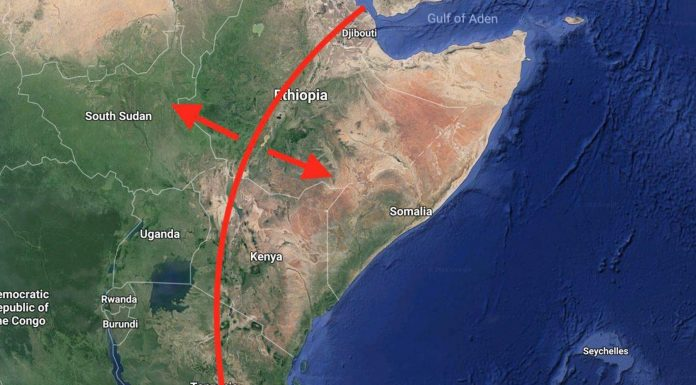 grieta de África