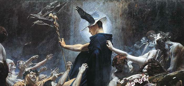 mitos de hermes, mensajero de los dioses en el inframundo