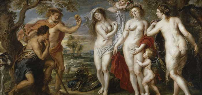 3 Mitos de Afrodita | Historias curiosas de la diosa del amor griega, juicio de Paris, Hijos de Afrodita