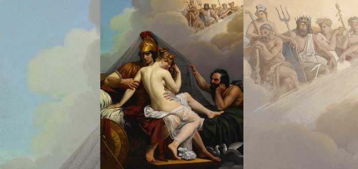 4 Mitos de Hefesto | El feo dios griego que usaba volcanes como forja, Hefesto y afrodita