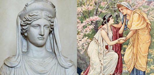 3 Mitos de la Diosa Deméter | Historias de la diosa griega de la agricultura