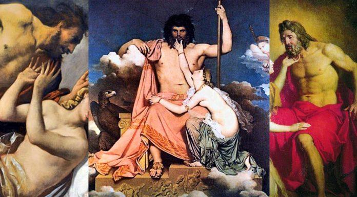 5 mitos de Zeus curiosos: historias del padre de los dioses
